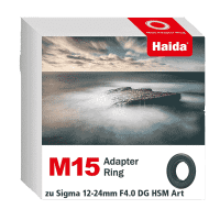 Haida M15 Adapter Ring zu Sigma 12-24mm F4.0 DG HSM Art Objektiv