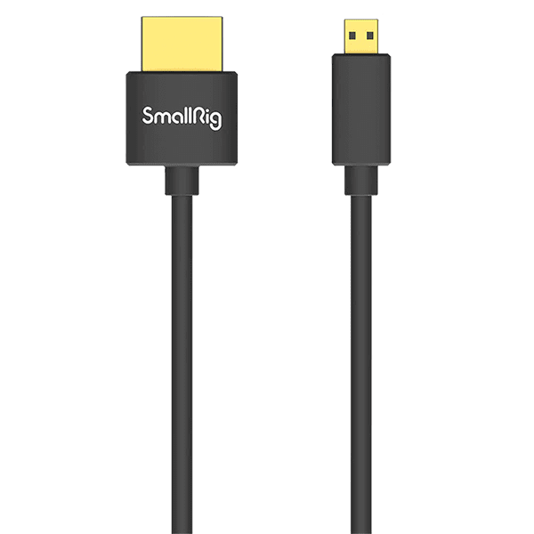 SmallRig Ultra Slim 4K HDMI Cable D to A 35cm 3042