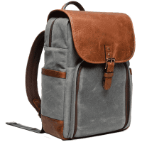 Ona Monterey Backpack Smoke Antique Cognac_