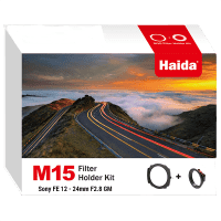 Haida M15 Kit für Sony FE 12-24mm F2.8 GM