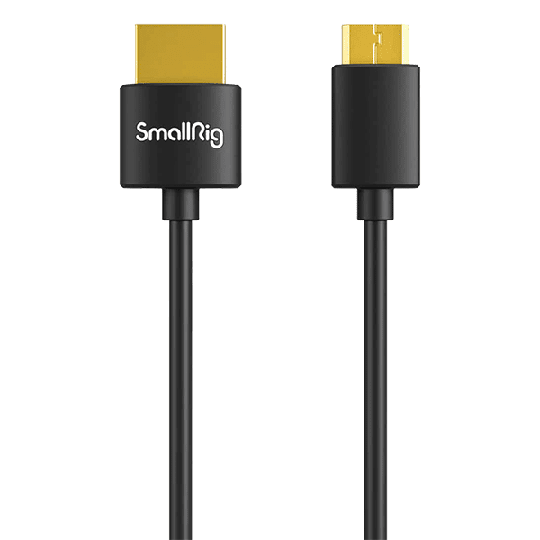 SmallRig Ultra Slim 4K HDMI Cable C to A 55cm 3041